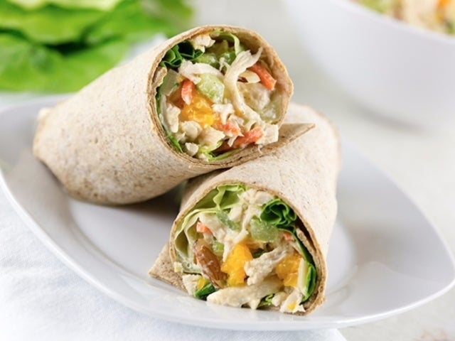Recipe: Pineapple Chicken Salad Wrap