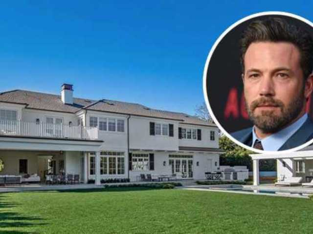 Peek Inside Ben Affleck's $20M Pacific Palisades Bachelor Pad