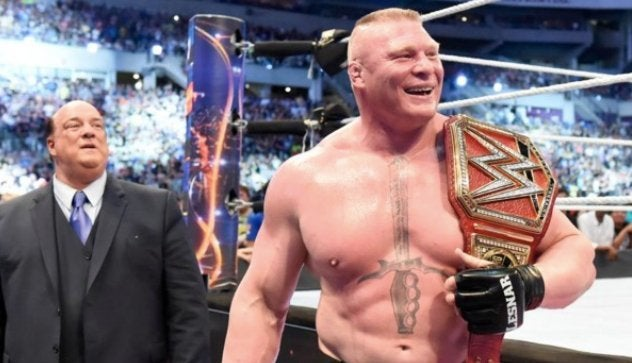 brock lesnar wwe breaks sacred record