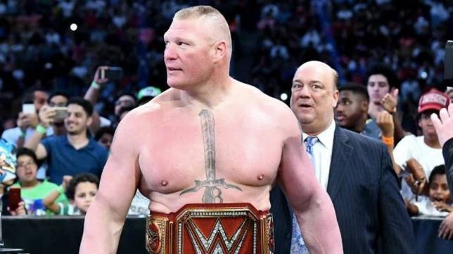 brock lesnar wwe contract