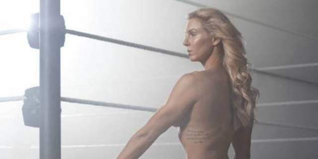 Charlotte Flair WWE ESPN Body Photo