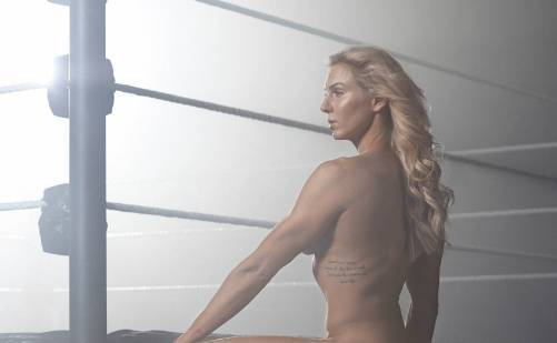 Charlotte Flair WWE ESPN Body Photo