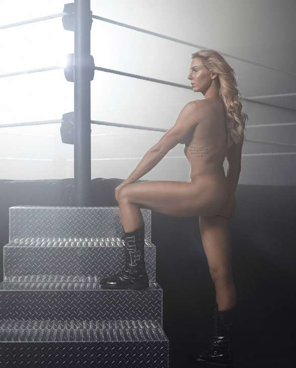 Charlotte Flair wwe espn the body