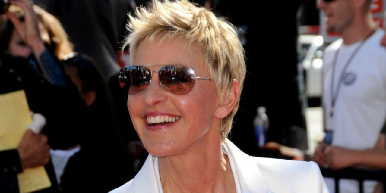 Ellen DeGeneres Reveals New Hairdo After Hair Coloring Goes Wrong