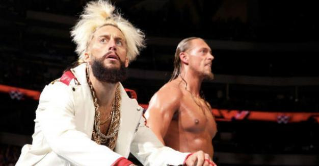 Enzo Amore Big Cass WWE grudge knee injury