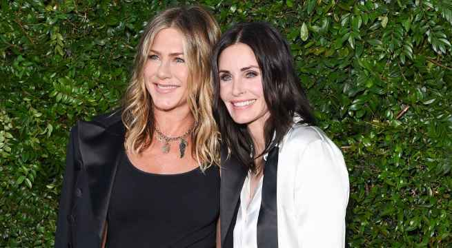 jennifer aniston courteney cox reunion