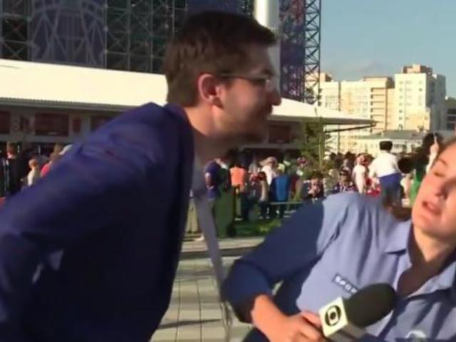 World Cup Reporter Dodges Sexual Advance, Immediately Has Words for Out of Line Soccer Fan