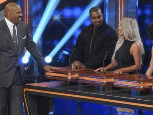 Kim Kardashian and Sister Khloe Face-off in 'Celebrity Family Feud' Sneak Peek