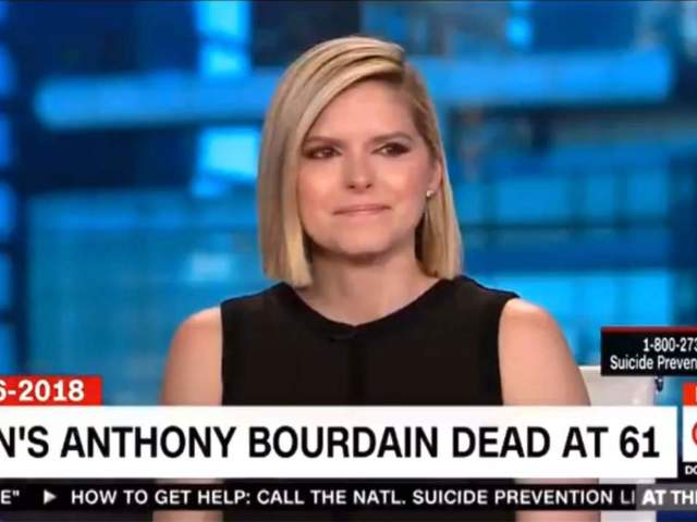 CNN Anchor Kate Bolduan Fights Back Tears Remembering Anthony Bourdain
