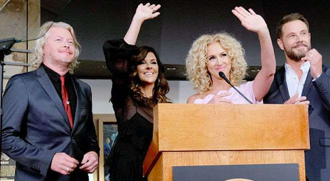 little-big-town-hall-of-fame-exhibit
