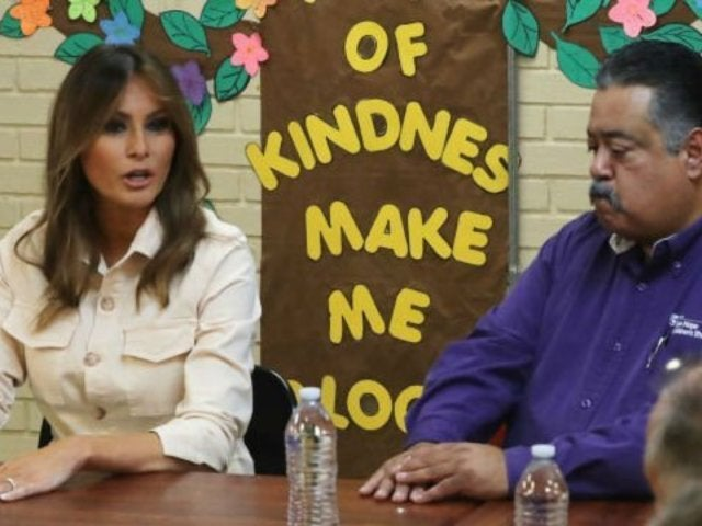Melania Trump Shamed for Mixed Message in Visit to Detained Immigrant Children
