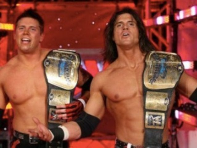 The Miz, Zack Ryder, and John Morrison Reunite for Wrestling Wedding