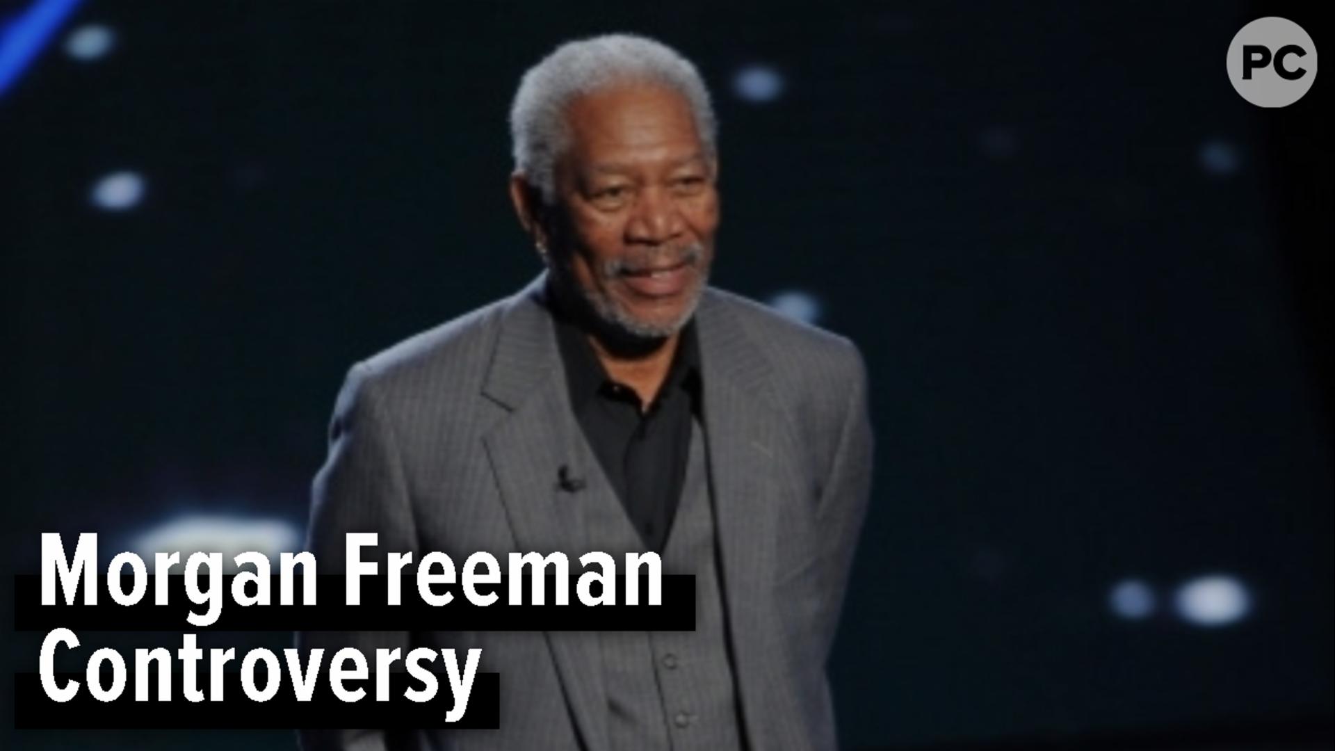 Morgan Freeman Controversy screen capture