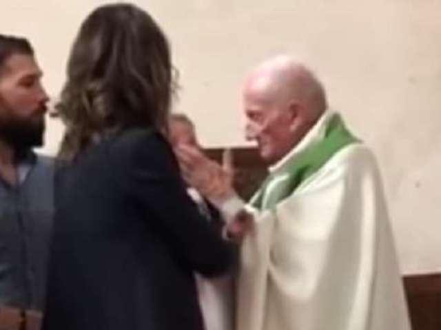 Priest Forced Into Retirement After Viral Video Shows Him Slapping a Crying Baby