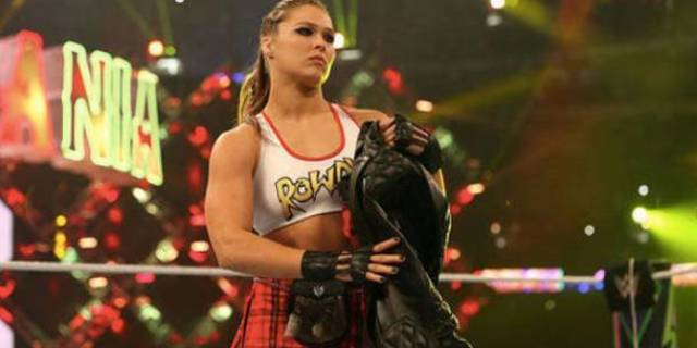 ronda rousey wwe contract one year