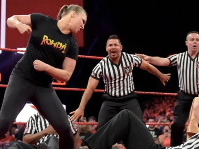 Hints That Ronda Rousey Will Break WWE Suspension