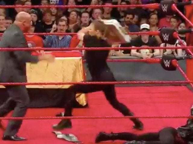Watch: Ronda Rousey Suspended After RAW Rampage