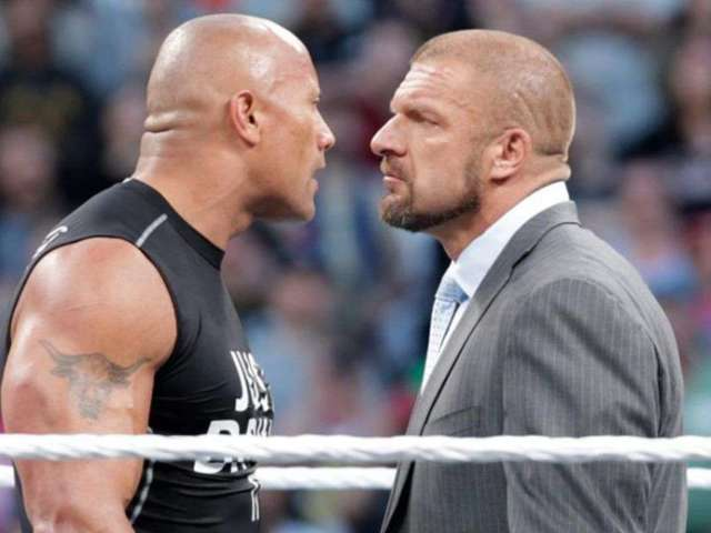 Triple H Sent The Rock a Surprising and Hilarious Photo of Himself