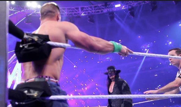 Undertaker John Cena WWe SummerSlam