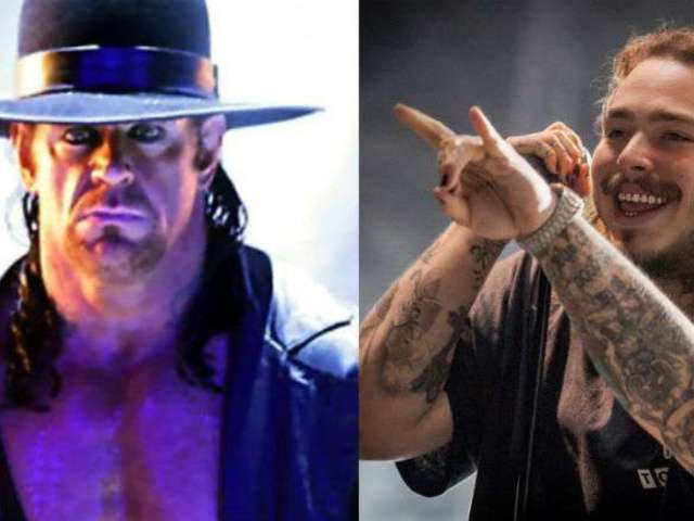 The Undertaker Choke Slams Post Malone, Smashes Guitars at Austin Concert