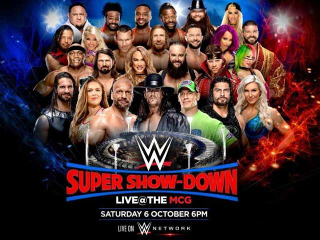 WWE Announces Australia Super Show-Down Featuring Massive Main Event