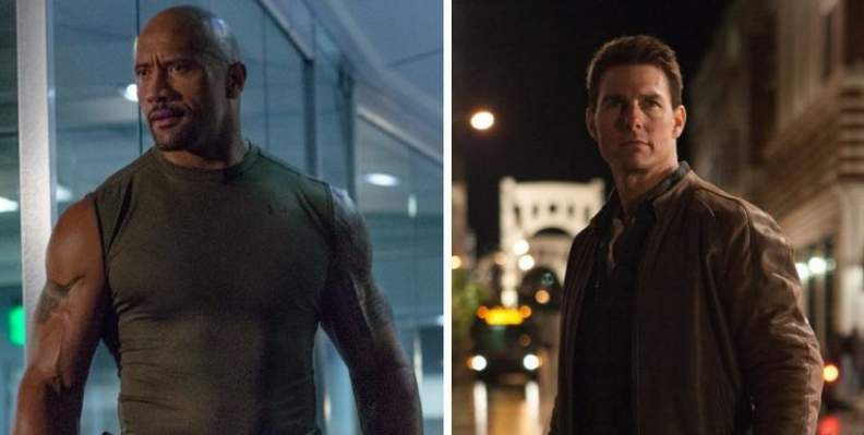 Dwayne 'The Rock' Johnson and Tom Cruise Open to Working Together
