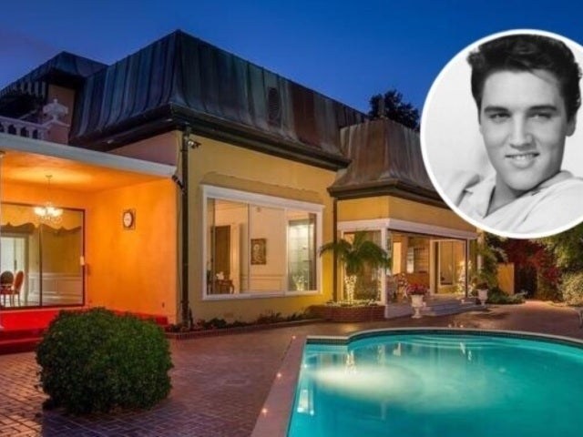 Peek Inside Elvis Presley's Eccentric $23.4M Bel Air Mansion