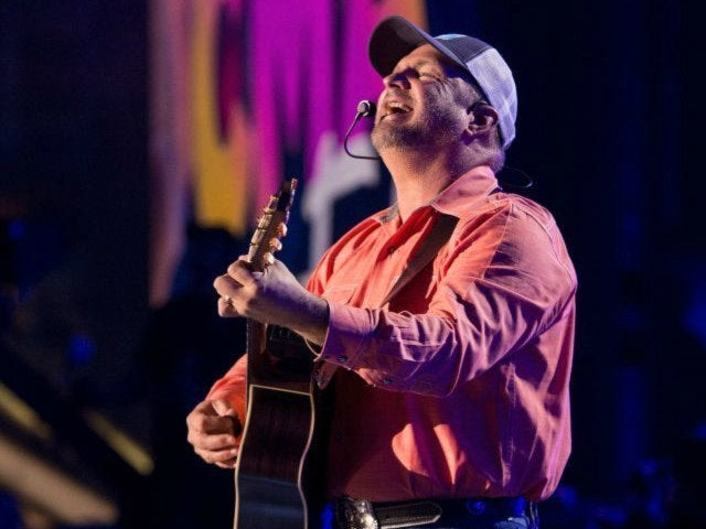 Garth Brooks Hints at Collaboration With 'AGT' Finalist Michael Ketterer
