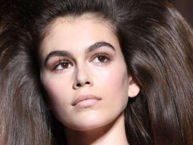 Cindy Crawford's Daughter Kaia Gerber Steals the Show at Paris Fashion Week