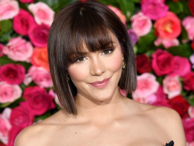 Katharine McPhee Shares Photo of  Engagement Ring in Honor of Her Dad