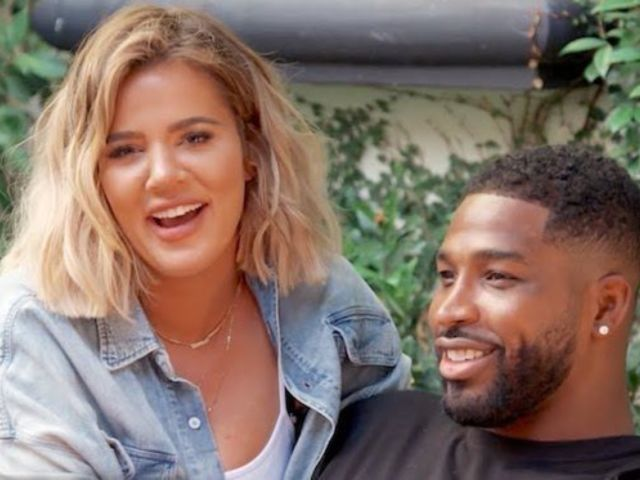 Khloe Kardashian and Tristan Thompson Cozy up on Vacation in Mexico