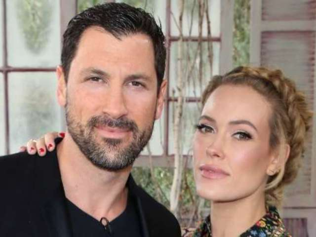 'DWTS' Pro Peta Murgatroyd Shares NSFW Holiday Photo of Husband Maksim Chmerkovskiy