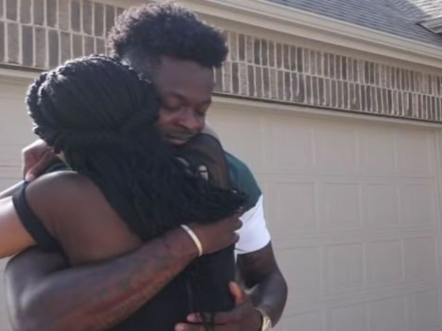 NFL Player Marquise Goodwin Surprises Mom With a New House