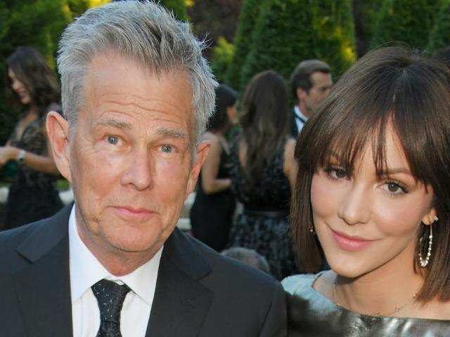 Katharine McPhee Shares Glimpse of Massive Engagement Ring From David Foster