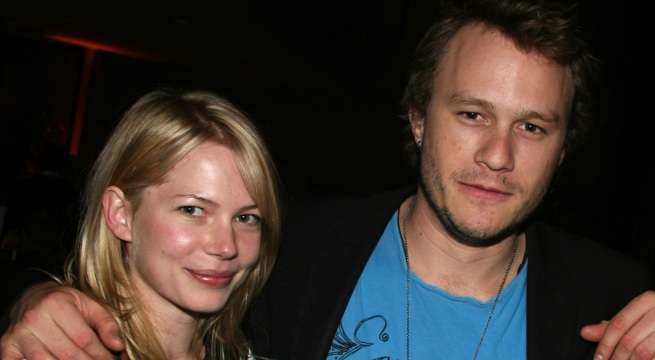 Michelle Williams Heath Ledger Getty
