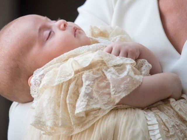 Prince Louis' Official Christening Portraits Released by Kensington Palace