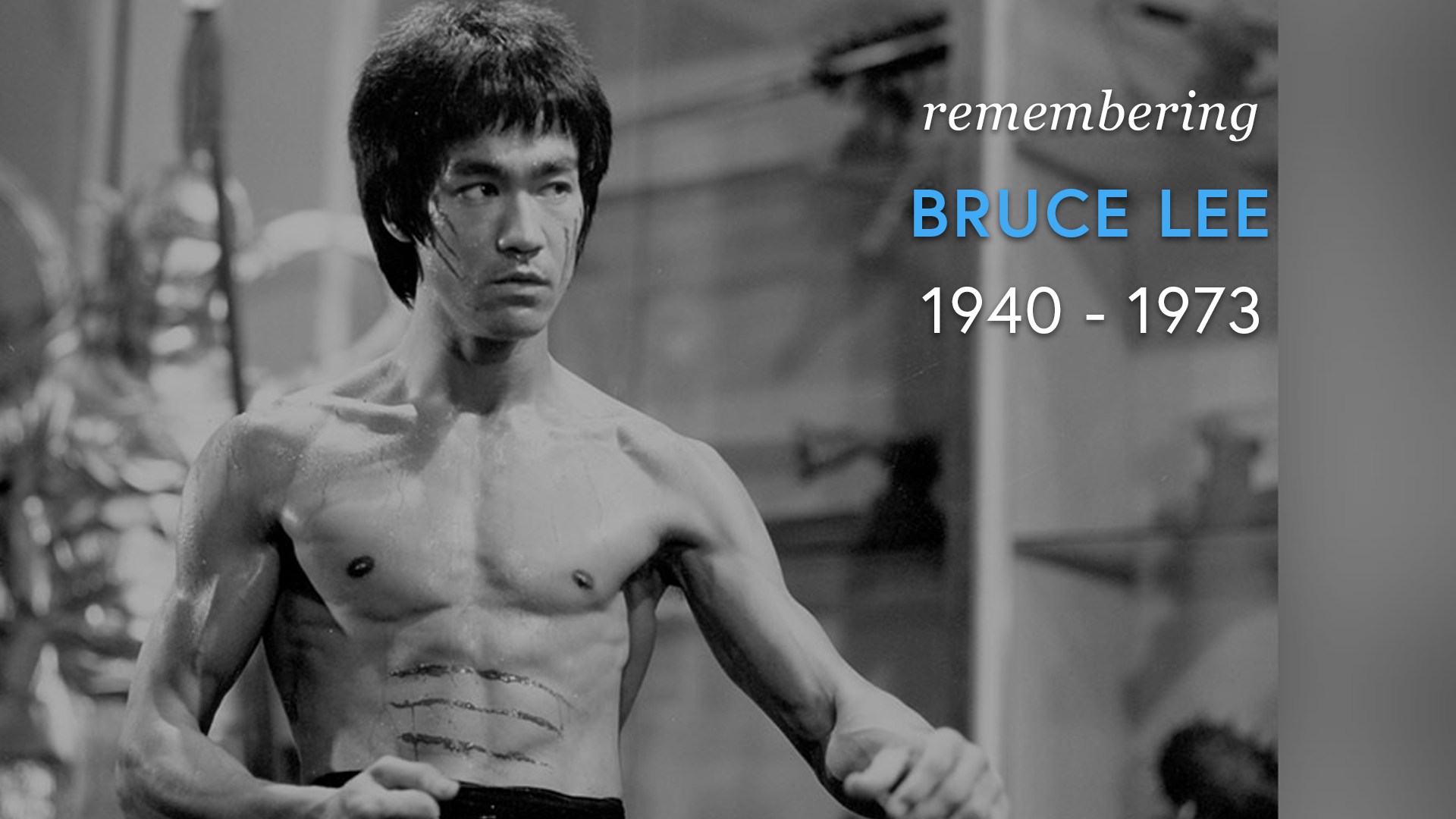 Remembering Bruce Lee (1940 - 1973) screen capture