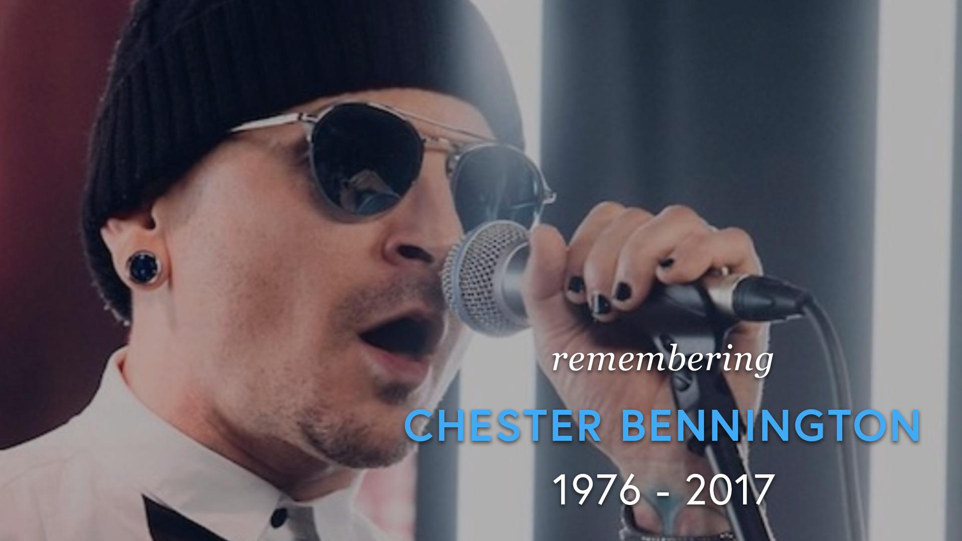 Remembering Chester Bennington screen capture