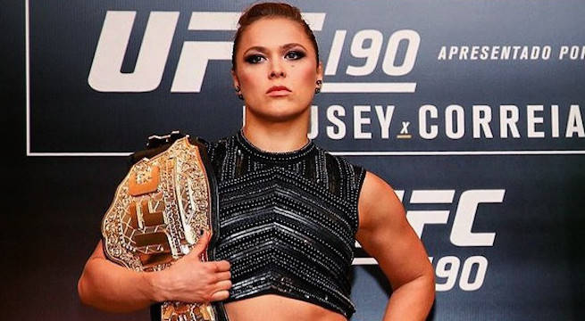 Ronda Rousey Inducted Into UFC Hall of Fame