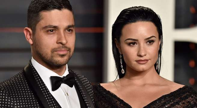 wilmer valderrama demi lovato getty