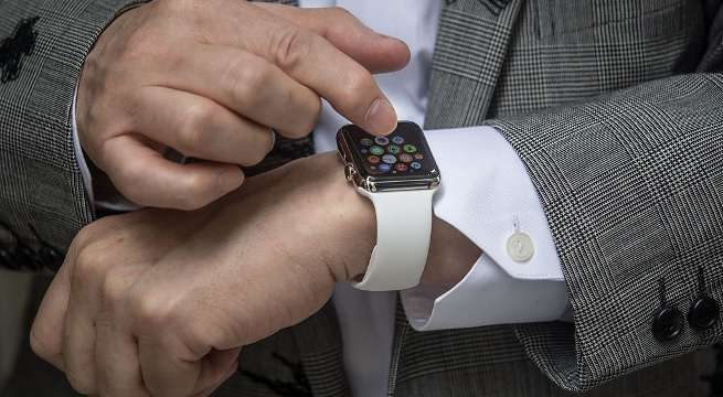 apple watch getty images