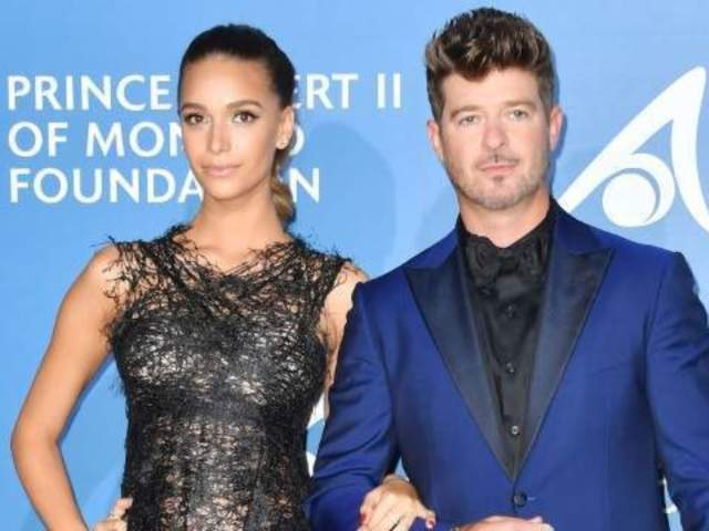 Robin Thicke's Girlfriend April Love Geary Reveals Miscarriage