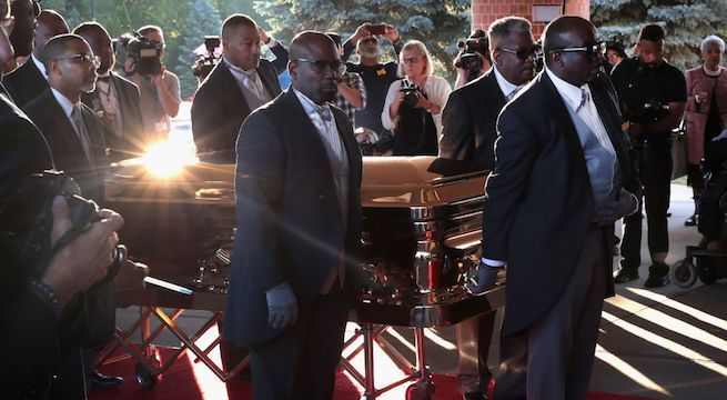 aretha-franklin-casket-funeral_getty-Scott Olson : Staff