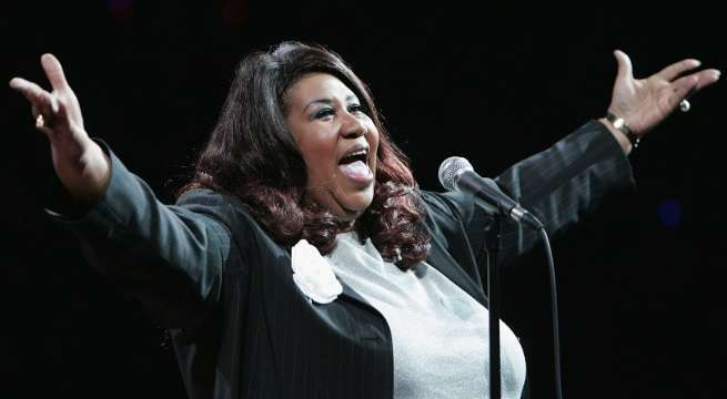 aretha franklin photo for shooting getty