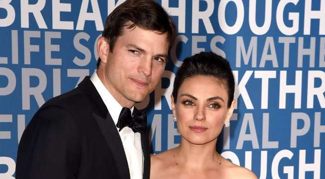 ashton kutcher mila kunis getty