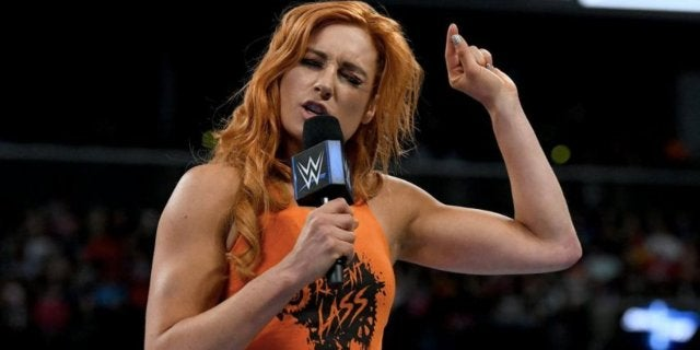 becky lynch wwe not blonde enough