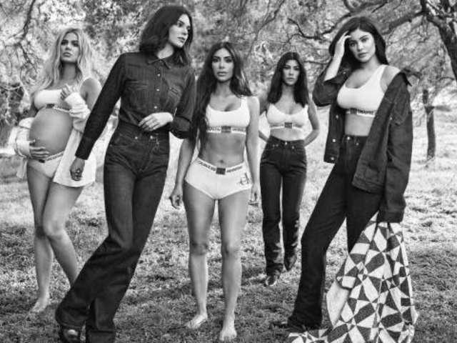 Kardashian Sisters' Calvin Klein Campaign Photos Baffle Fans