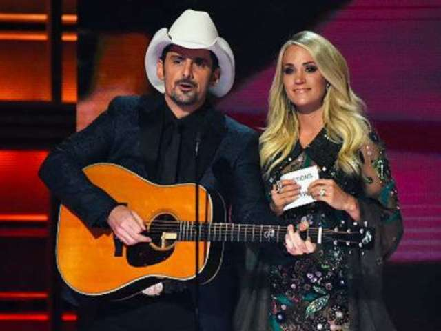 Carrie Underwood Takes Brad Paisley Muddin' in Preview for Tonight's ABC Special