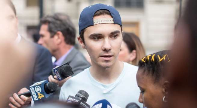david hogg getty images