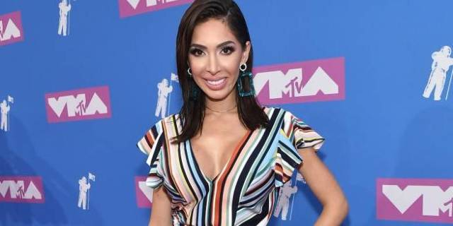 farrah abraham vmas red carpet getty images